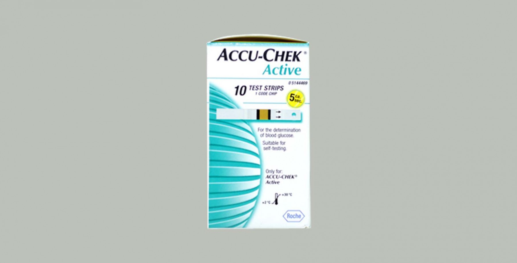 Accu Chek Active Test Strips 10s Strip